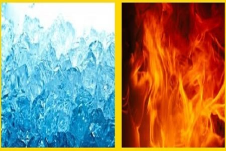 Hot Pad versus cold pack Ice Pack for Pain Relief