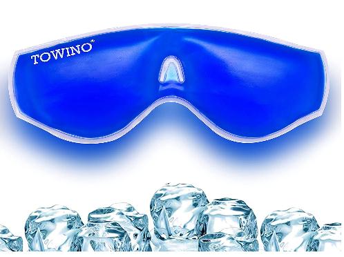Towino Cool Gel Eye Mask for Eye Puffiness Eye strain Sleep Dark Circles