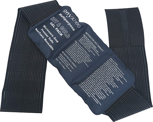 Onyxneo Hot and Cold Gel Pack with Straps Large