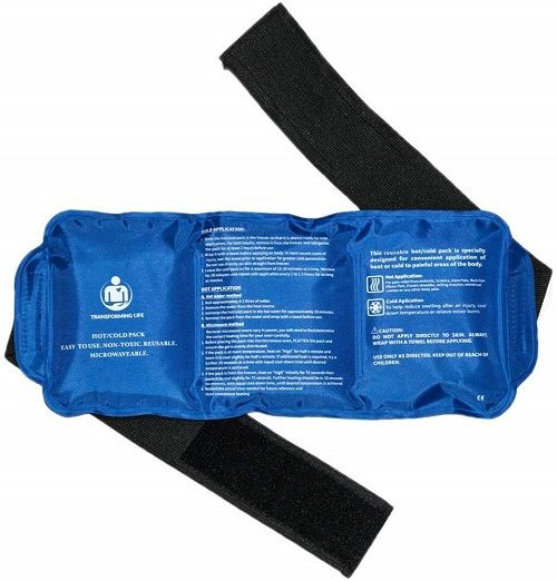 Tranforming Life hot and cold pack with extra long straps curetechie review