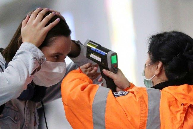 infrared thermometer coronavirus fever check airport